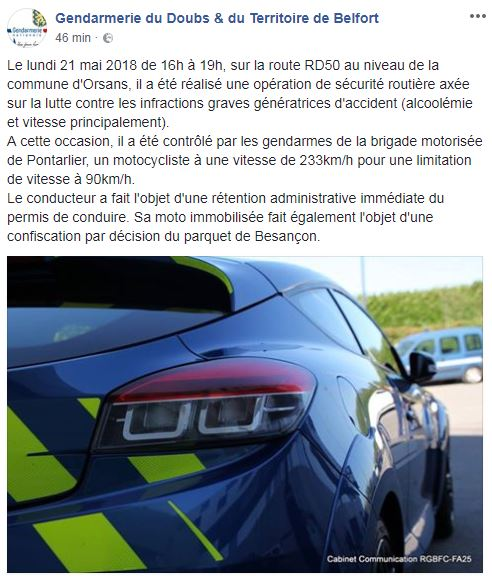 Attention à vos points sur les routes. Doubs_10