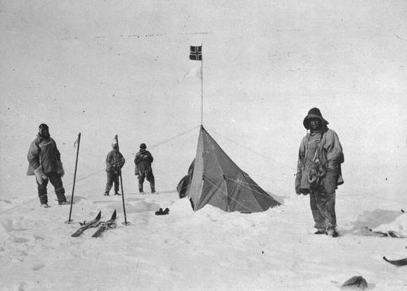 Pôle Sud cent ans plus tard... Robert10
