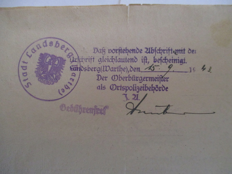 documents SS dont un de la Leibstandarte Adolf Hitler  Img_8374
