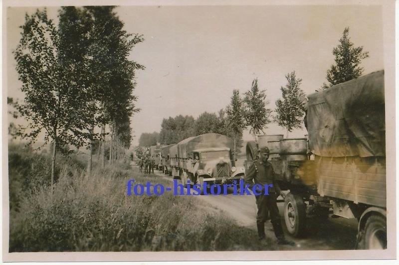Camions CITROËN dans la Wehrmacht Konvoo10