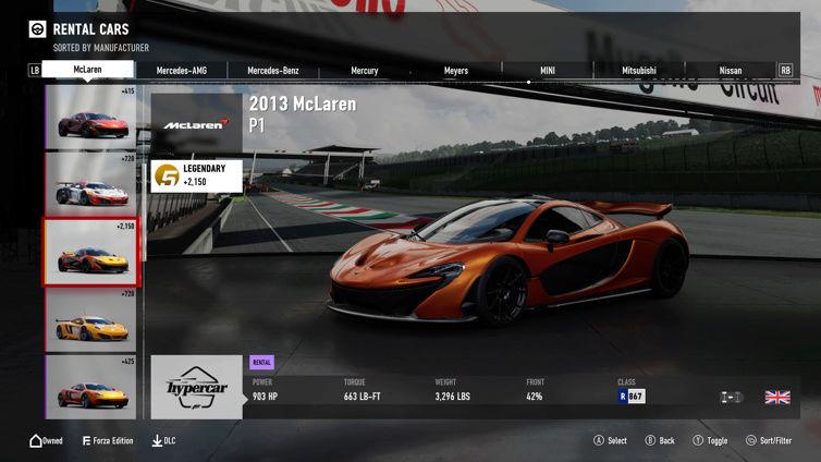FM7 Time Attack | Stock Car Challenge #17 (2013 McLaren P1) Cbb10810