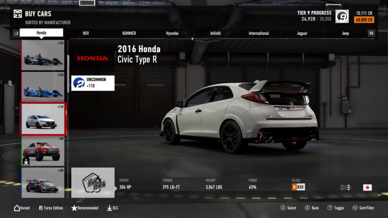 FM7 Time Attack | Stock Car Challenge #10 (2016 Civic Type R) Img_4110