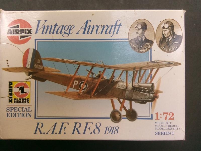 "[Airfix 1/72] Royal Aircraft Factory RE.8 ""Harry Tate"" Img_2025"