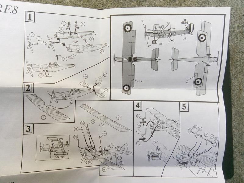 "[Airfix 1/72] Royal Aircraft Factory RE.8 ""Harry Tate"" Img_2026"