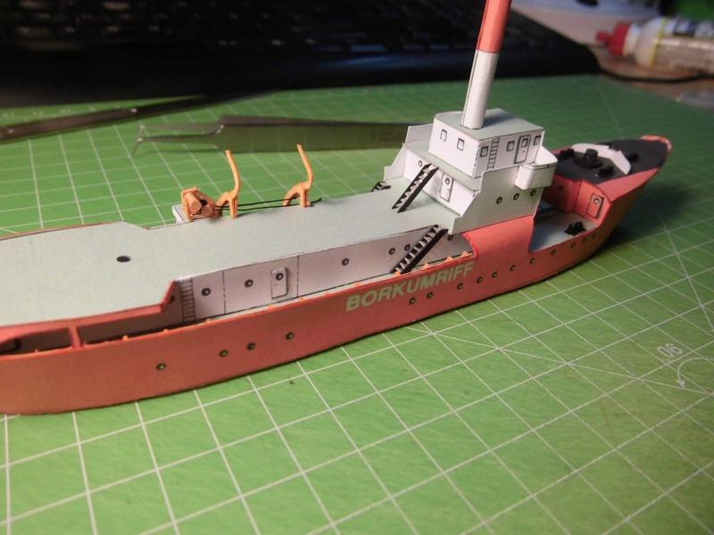 Feuerschiff Borkumriff  1:250  Cimg3437