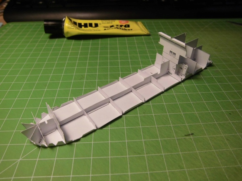 Atlantic Shell von Paper Shipwright 1:250 Cimg3518