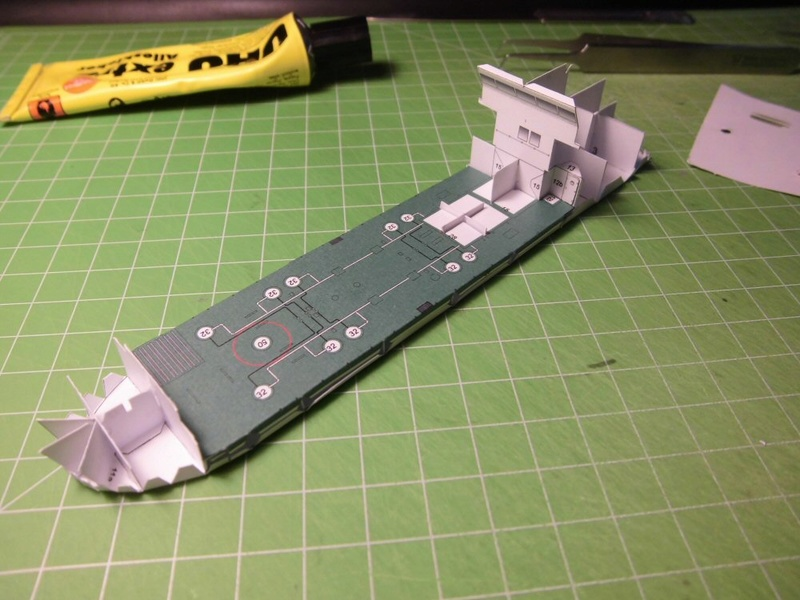 Atlantic Shell von Paper Shipwright 1:250 Cimg3520