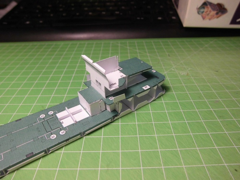 Atlantic Shell von Paper Shipwright 1:250 Cimg3521