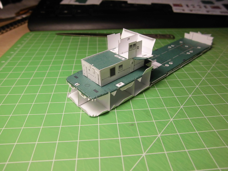 Atlantic Shell von Paper Shipwright 1:250 Cimg3523