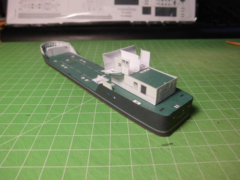 Atlantic Shell von Paper Shipwright 1:250 Cimg3526