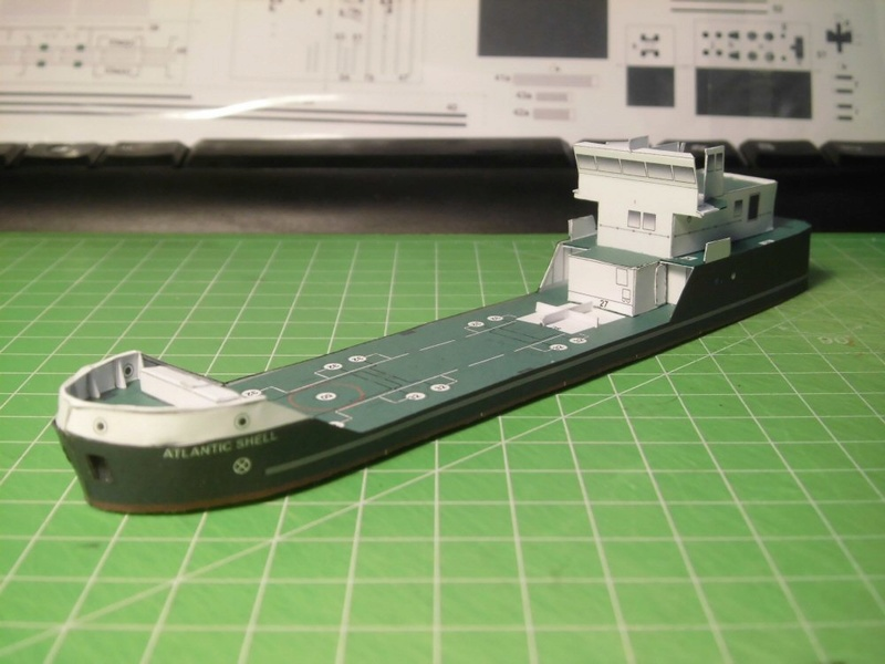Atlantic Shell von Paper Shipwright 1:250 Cimg3527