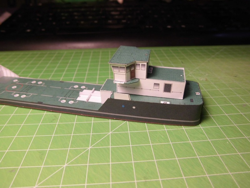 Atlantic Shell von Paper Shipwright 1:250 Cimg3530
