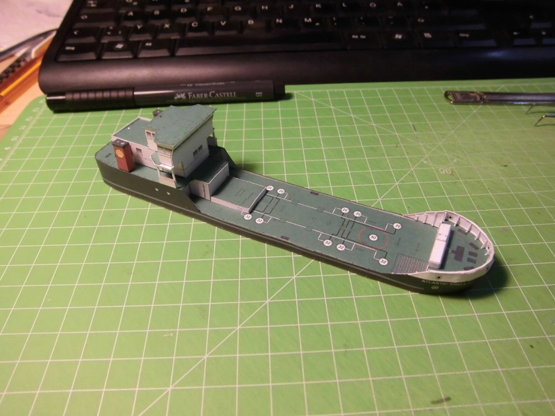 Atlantic Shell von Paper Shipwright 1:250 Cimg3534