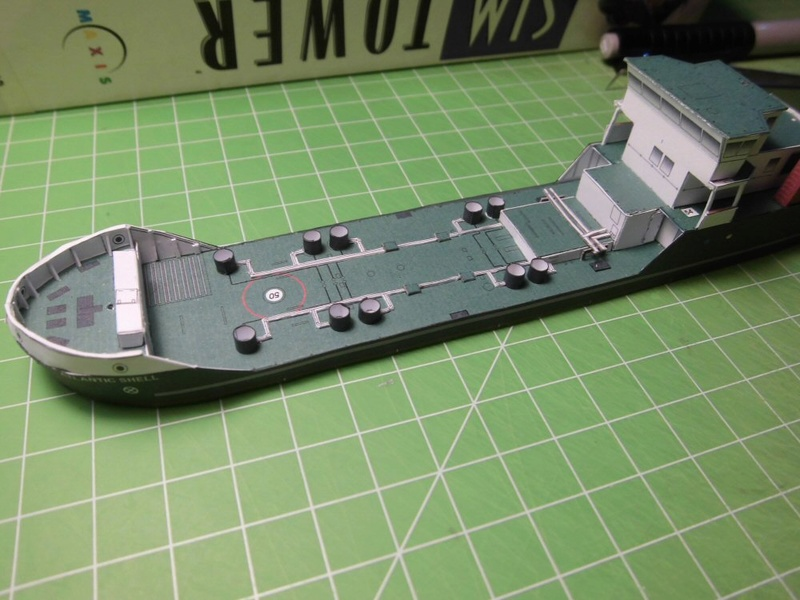Atlantic Shell von Paper Shipwright 1:250 Cimg3537
