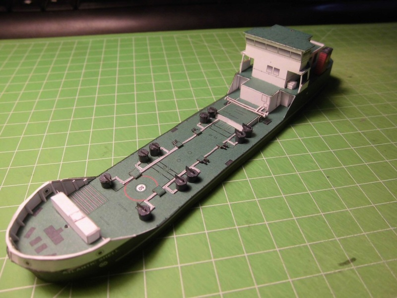 Atlantic Shell von Paper Shipwright 1:250 Cimg3541