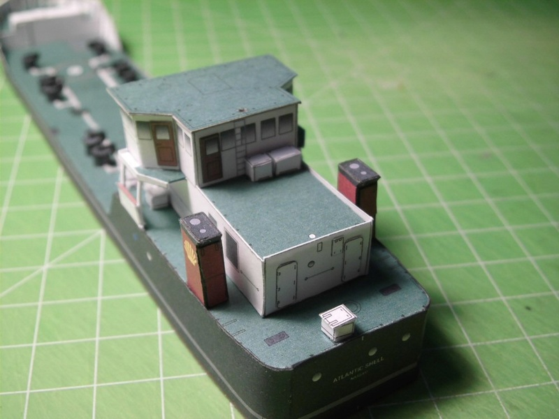 Atlantic Shell von Paper Shipwright 1:250 Cimg3543