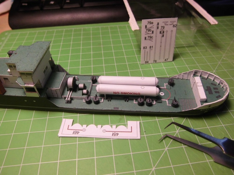 Atlantic Shell von Paper Shipwright 1:250 Cimg3547
