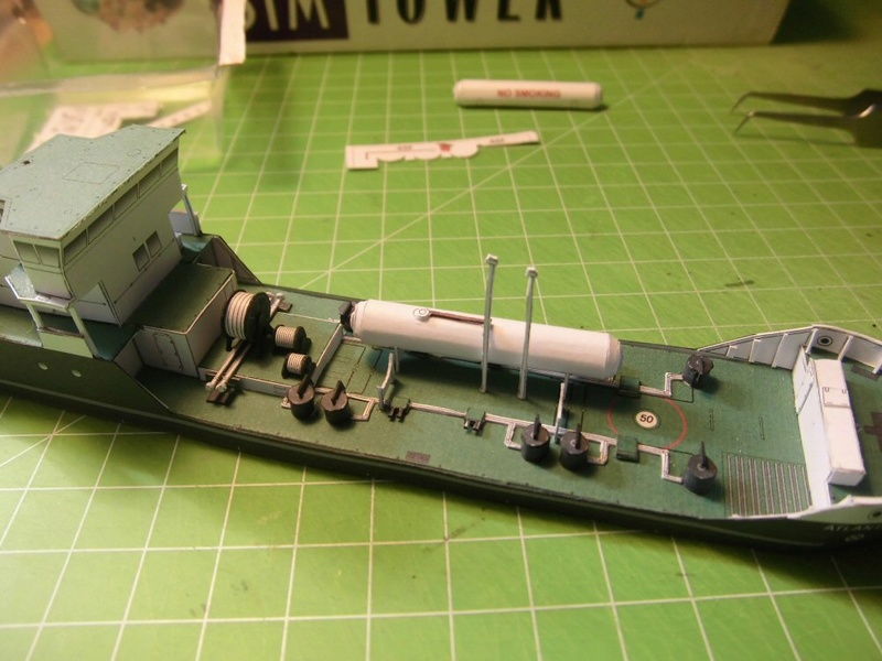 Atlantic Shell von Paper Shipwright 1:250 Cimg3549