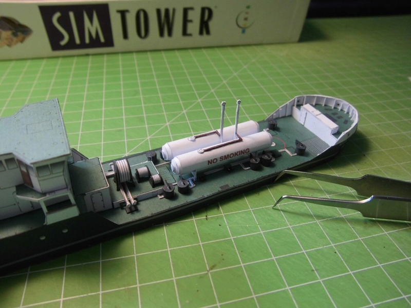 Atlantic Shell von Paper Shipwright 1:250 Cimg3610