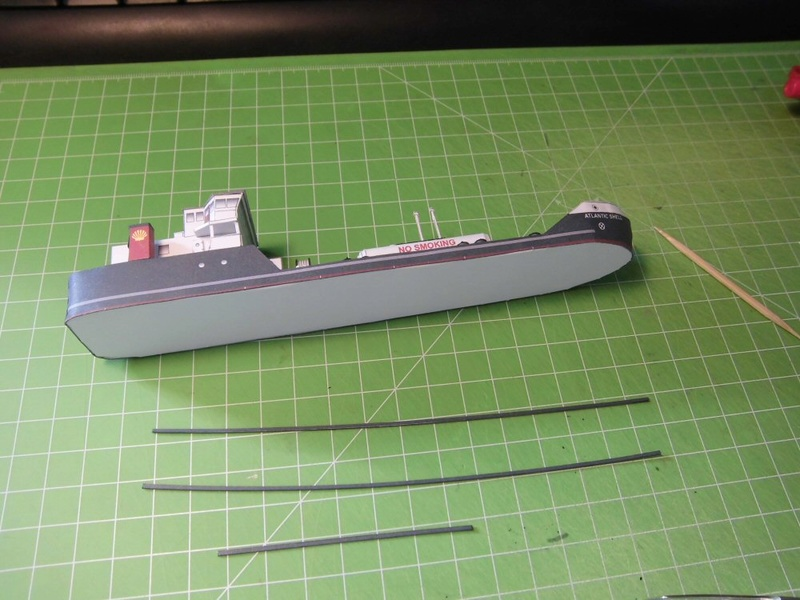 Atlantic Shell von Paper Shipwright 1:250 Cimg3611