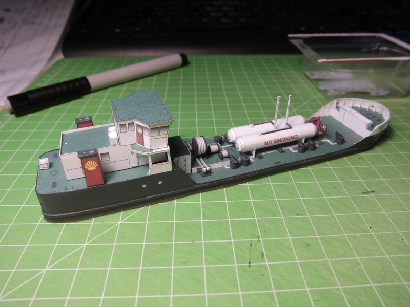 Atlantic Shell von Paper Shipwright 1:250 Cimg3615