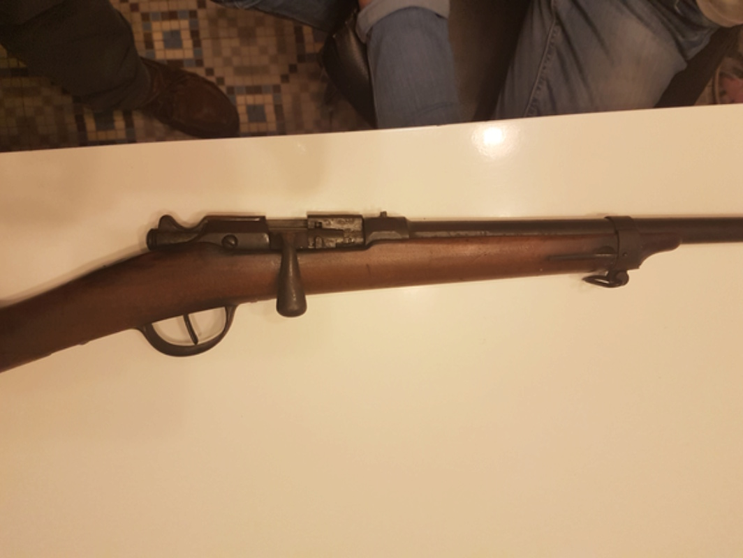 Fusil gras modifié chasse 20180211