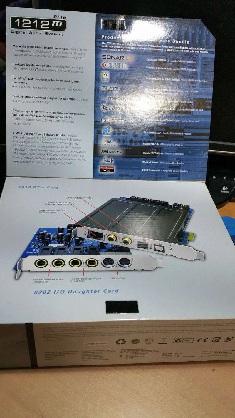 [Vendo - RM] Scheda audio E-MU 1212m PCIe S-l16012