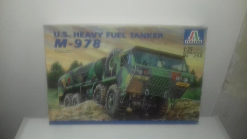 U.S. HEAVY FUEL TANKER  M-978  1/35 DE CHEZ ITALERI 126