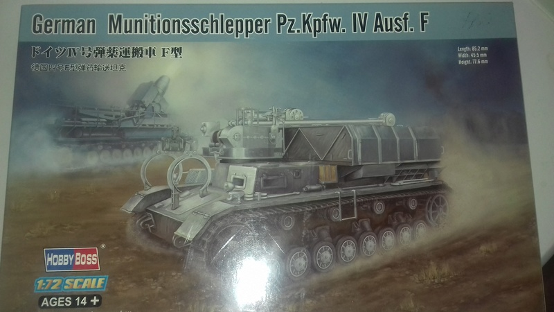 Tank German munitionsschlepper  Pz.Kpfw. IV; AUSF .f 20180313