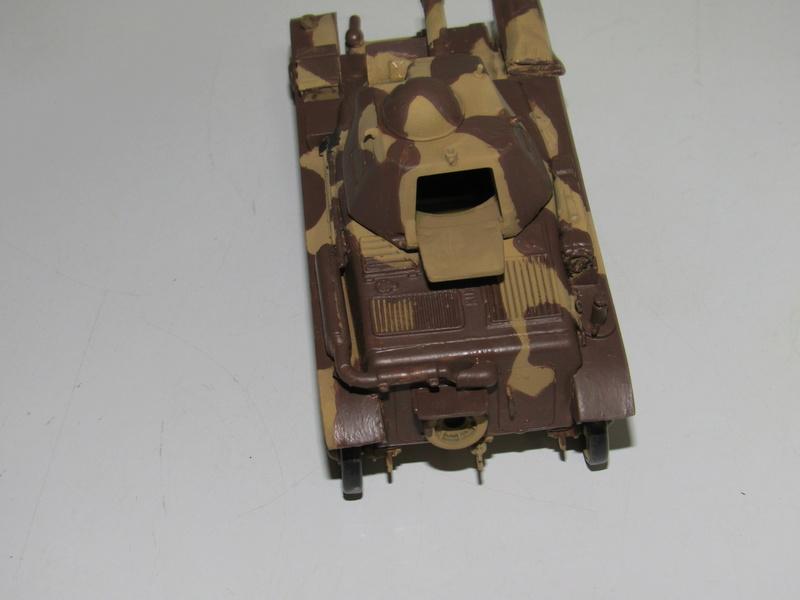 tank français, Renault R35 CANON 135 MM  au 1/35 de Heller 912