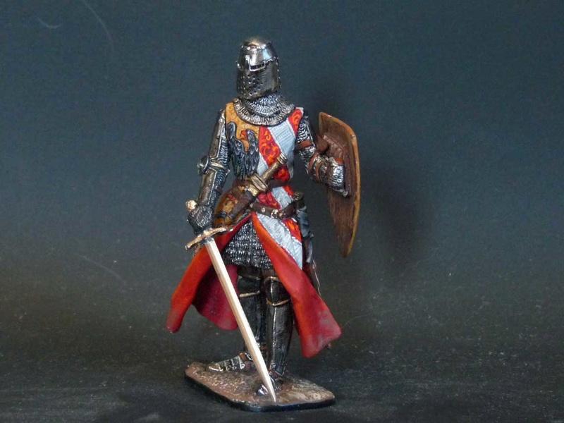 Chevalier écossais 54mm Knight10