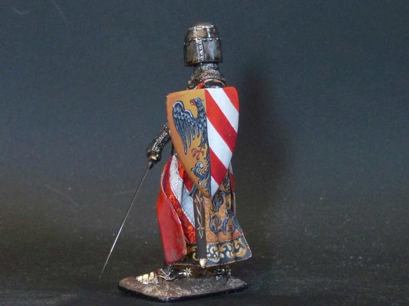 Chevalier écossais 54mm Knight14