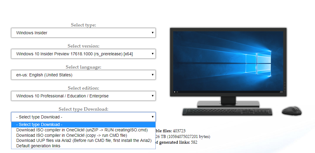 Windows 10 ISO create now even easier
