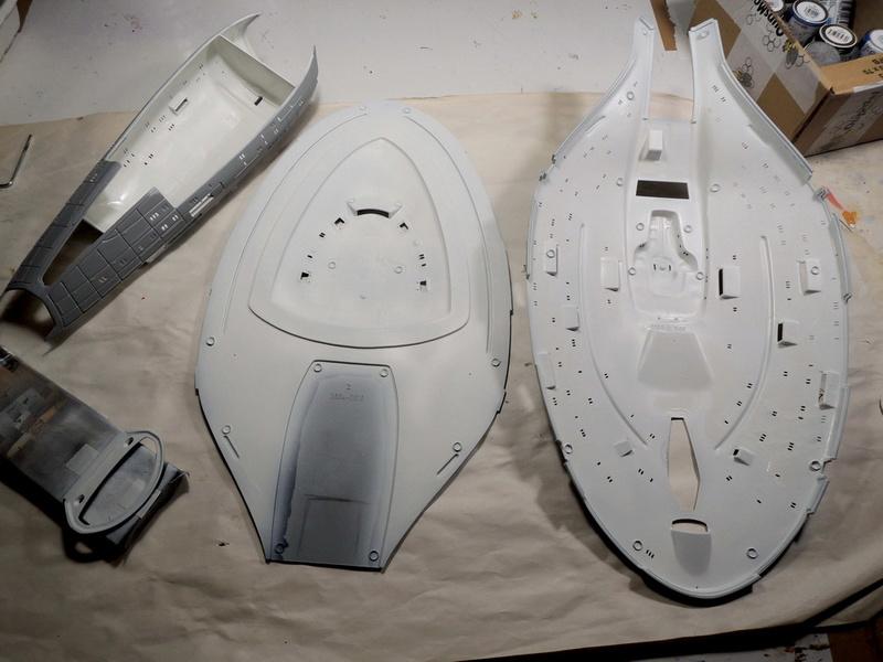 USS Voyager / REVELL Dscn4616