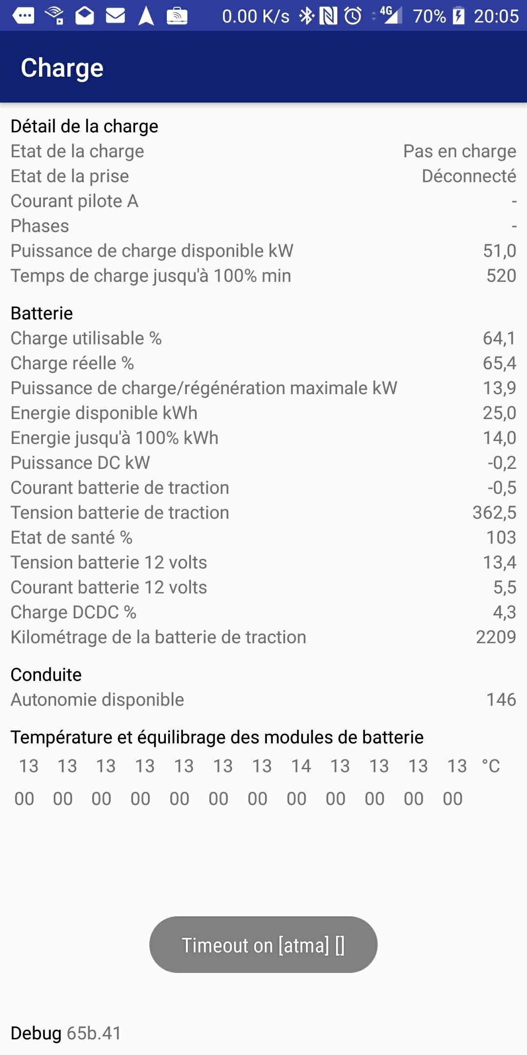 Consommation réelle en kWh pour recharge ZOE Screen12