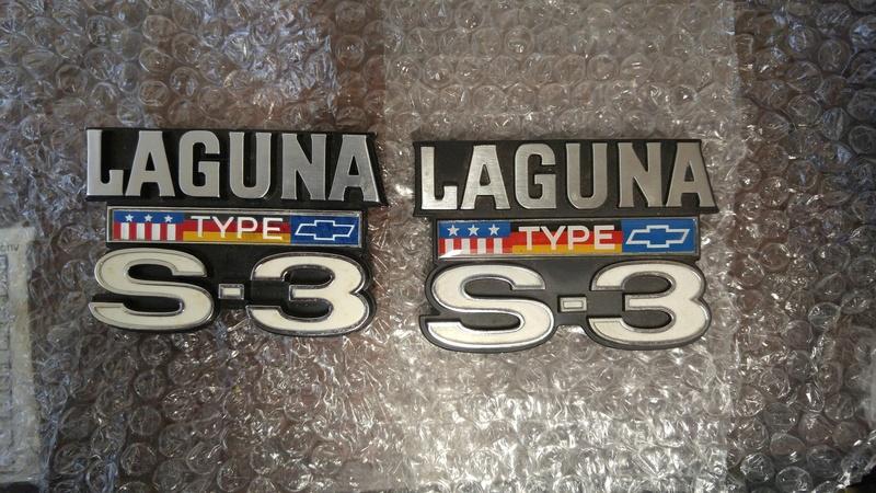'76 Laguna S3 emblems 20180225