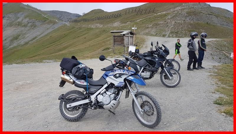 [BMW GS 650 DAKAR] Mes deux voyages en montagne  20170815