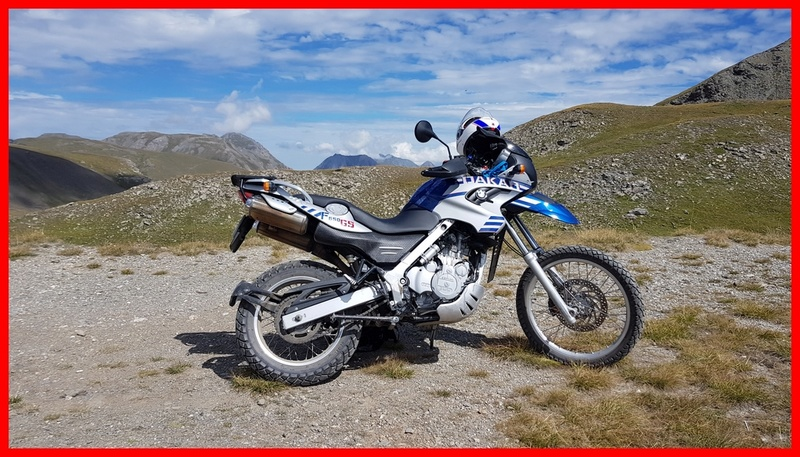 [BMW GS 650 DAKAR] Mes deux voyages en montagne  20170819