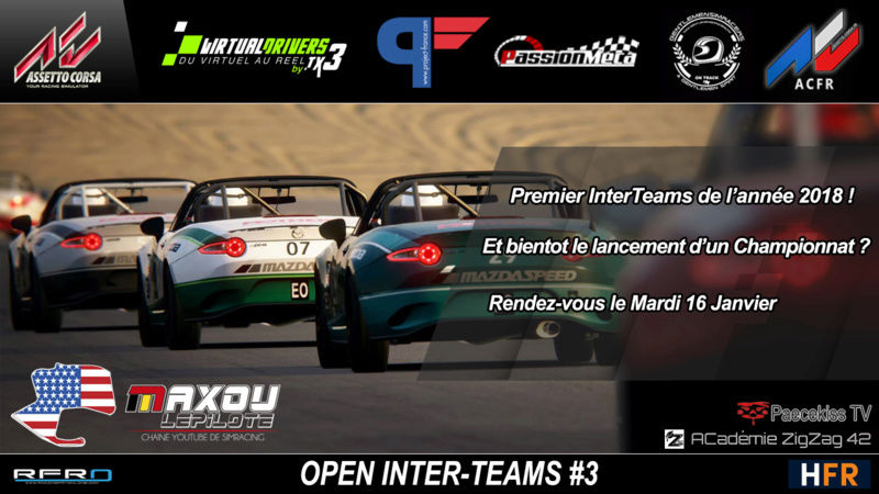Résultats Open InterTeam 3 Intert10