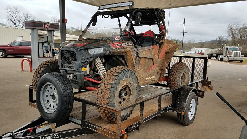 Getting the RZR ready for some wheeling 100010