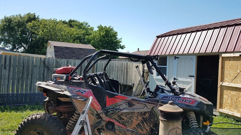 Getting the RZR ready for some wheeling Chop210