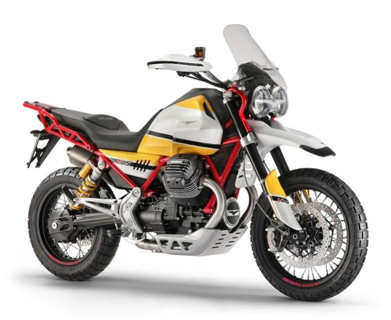 Le retour du trail chez Moto Guzzi : V 85 TT A117