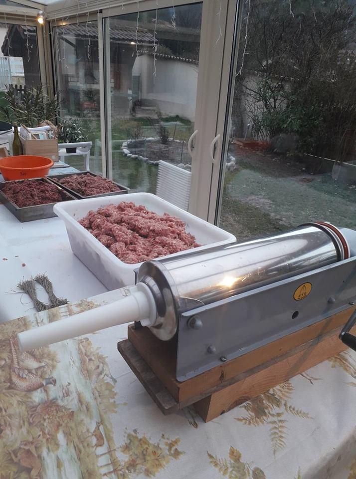 Saucisson de Ménage(Porc) Endoss10