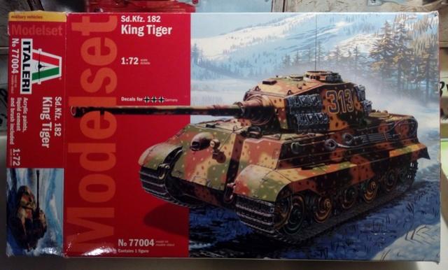 Sd.Kfz. 182 - Pz.Kpfw. VI King Tiger - Italeri - 1/72 0110