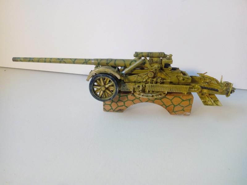 Canon lourd Kanone 18 de 17 cm. -- Revell -- 1/72 02-12-10