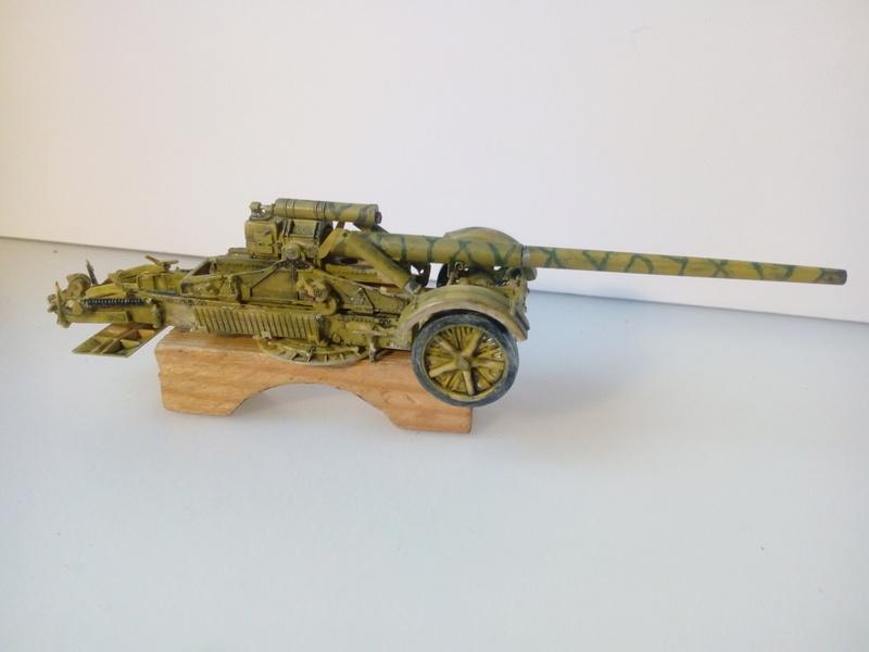 Canon lourd Kanone 18 de 17 cm. -- Revell -- 1/72 02-12-12