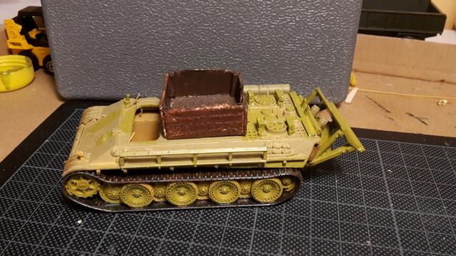 Bergepanther SdKfz 179 Auf M  ( Armourfast 1/72 )  12-11_14