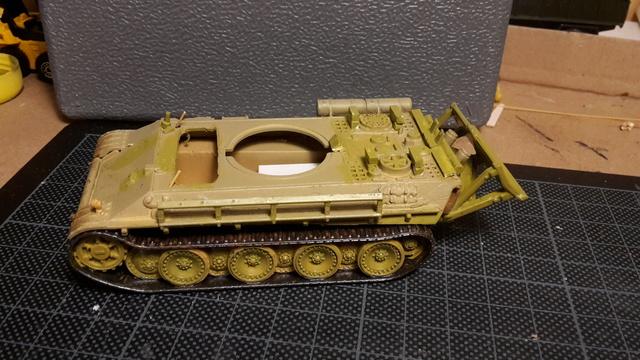 Bergepanther SdKfz 179 Auf M  ( Armourfast 1/72 )  12-11_15