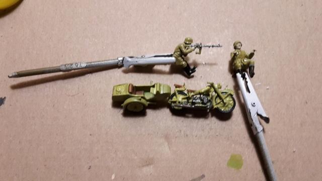 Side-car R-12 Afrika Korps 1942 (Zwezda 1/72) 20171016
