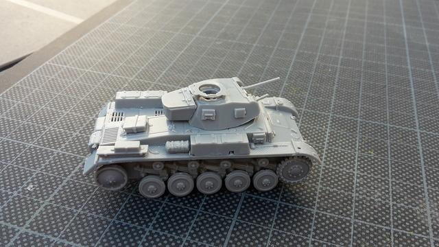 PzkPfw II Ausf.F -- Revell--1/72 (ex Matchbox) 20171017